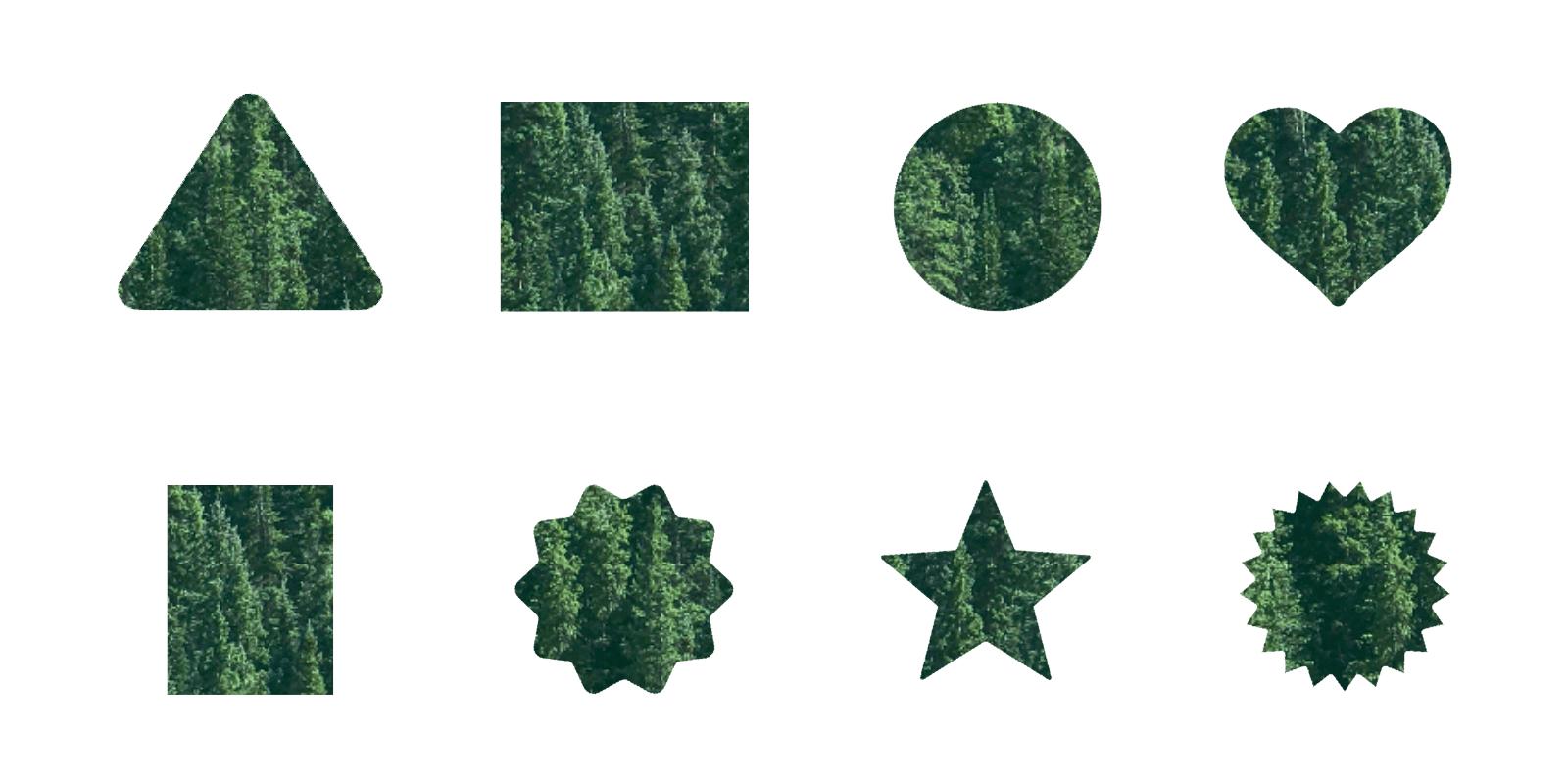 Crop shapes