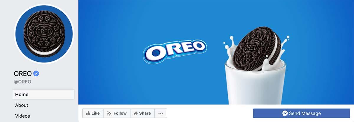 Oreo Facebook Cover